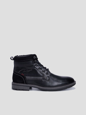 Bottines Lee Cooper noir homme