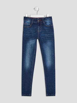 Jeans skinny denim stone garcon