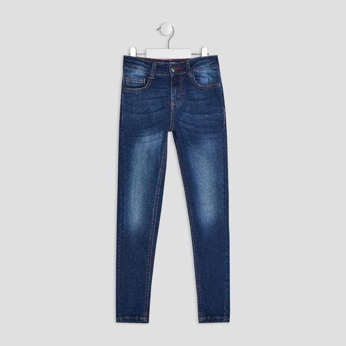 Jeans skinny garçon denim stone