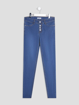 Jeans skinny 78eme denim double stone fille
