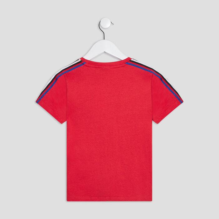 T-shirt manches courtes Sonic garçon rouge