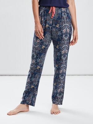 Pantalon de pyjama multicolore femme