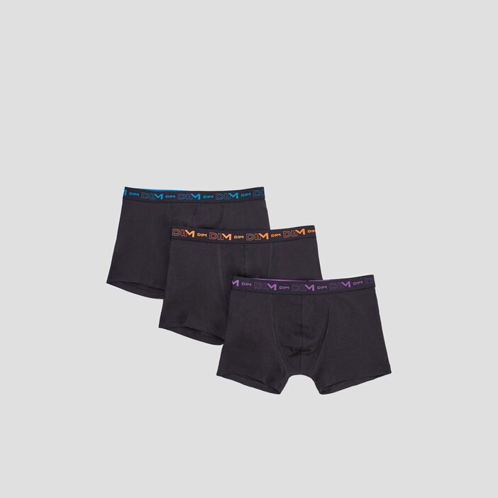 Lot 3 boxers DIM homme multicolore