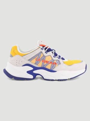 Runnings LA Gear HYDE PARK jaune homme