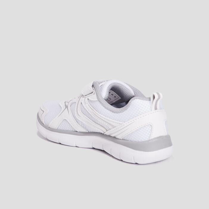 Baskets running Creeks fille blanc