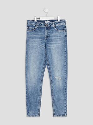 Jeans boyfriend Creeks denim double stone fille