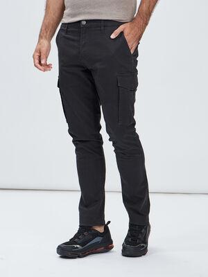 Pantalon battle gris fonce homme