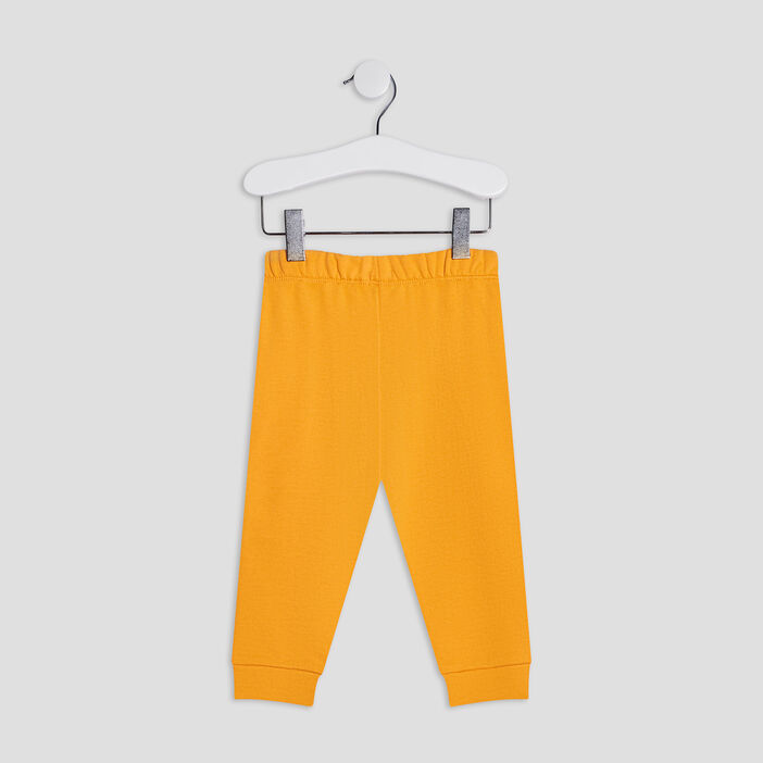 Pantalon jogging bébé garçon jaune