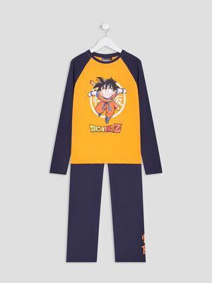 Ensemble pyjama Dragon Ball Z bleu marine garcon