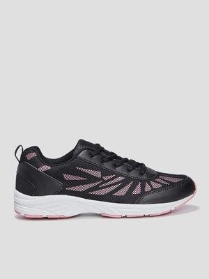 Baskets runnings noir femme