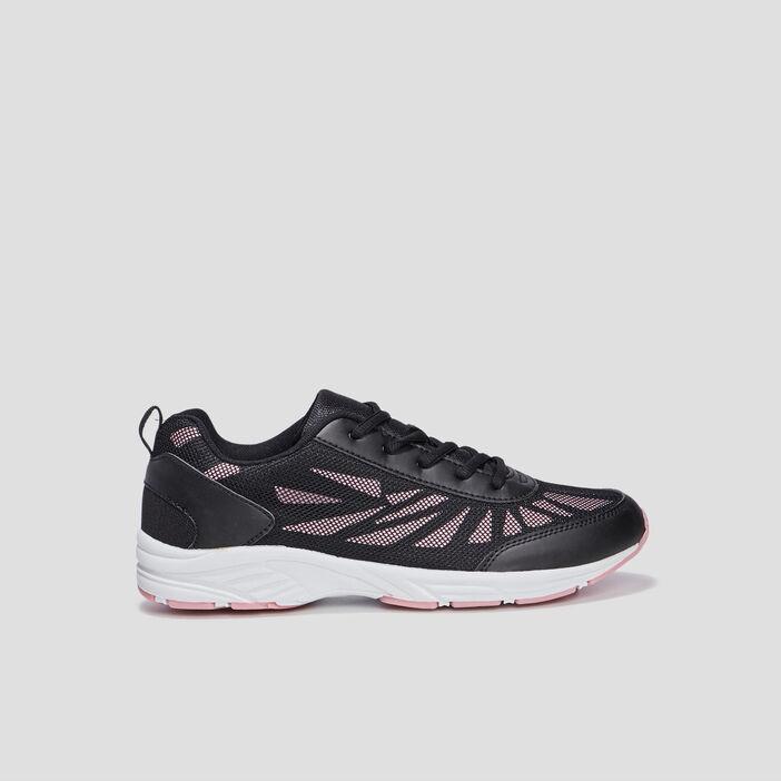 Baskets runnings femme noir