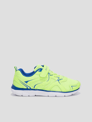 Baskets running Creeks jaune garcon