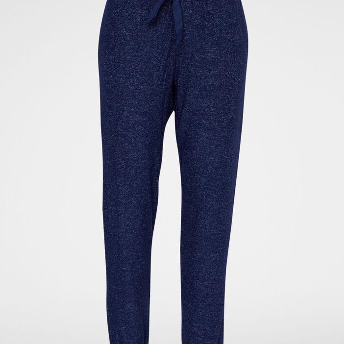 Bas de pyjama femme bleu