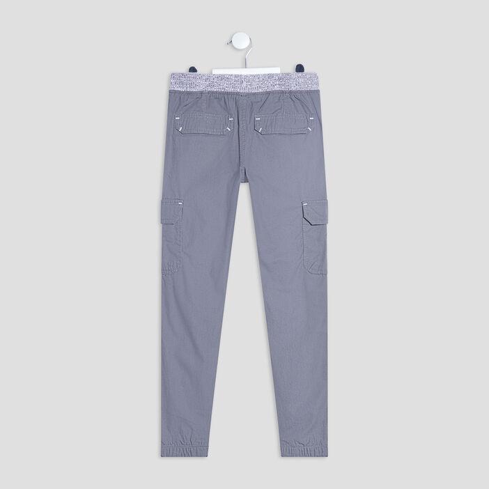 Pantalon battle garçon gris clair