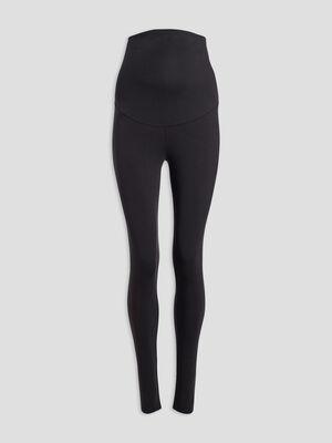 Pantalon legging grossesse noir femme