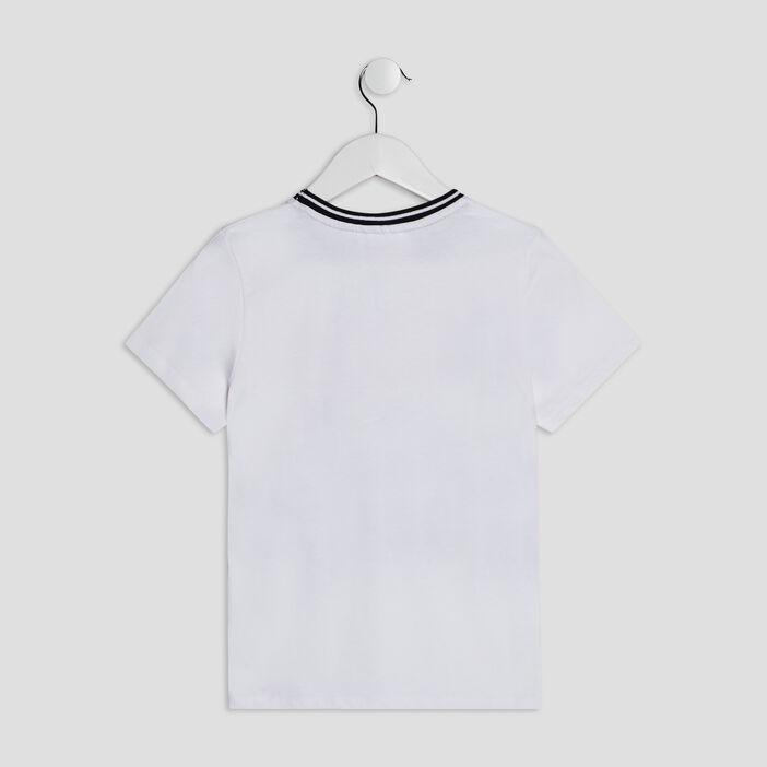 T-shirt manches courtes Marvel garçon blanc