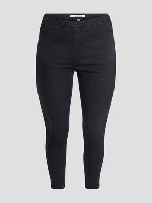 Pantalon jegging noir femmegt