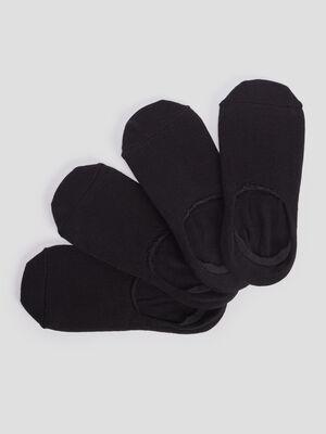 Socquettes protege bas noir