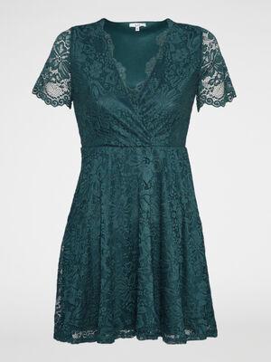 Robe vert femme