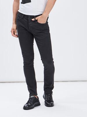 Pantalon skinny Liberto noir homme