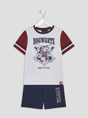 Ensemble pyjama Harry Potter gris garcon