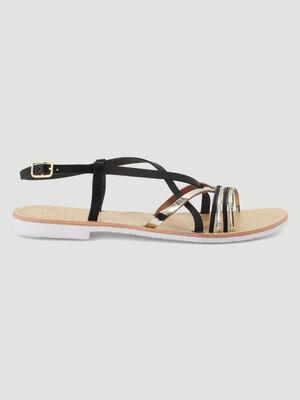 Sandales noir femme