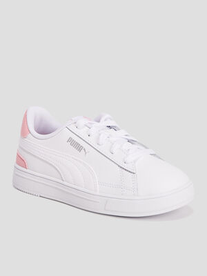 Tennis Puma blanc fille