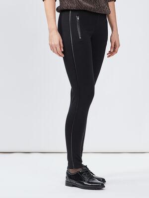Pantalon legging noir femme