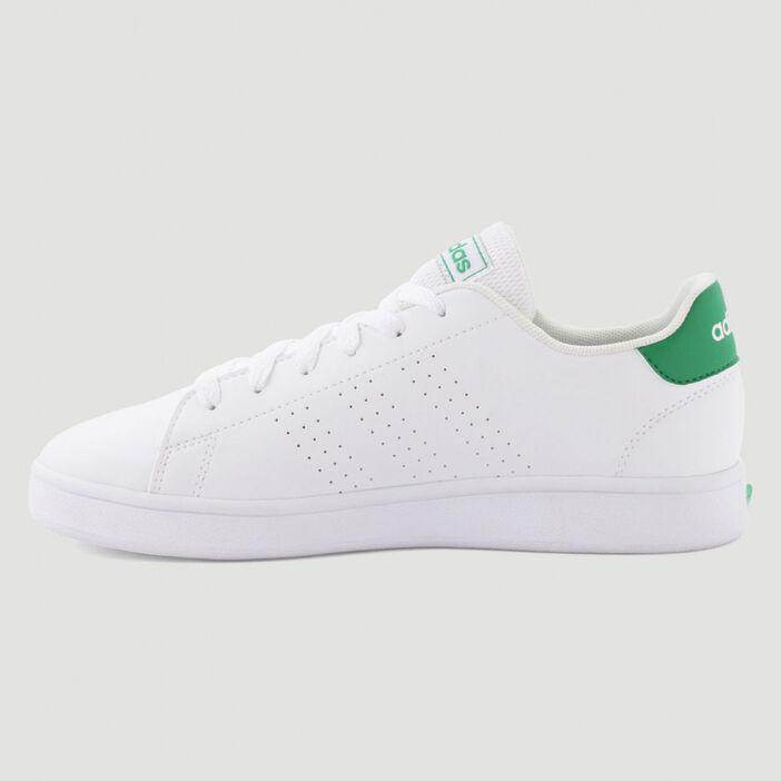Tennis Adidas ADVANTAGE garçon blanc