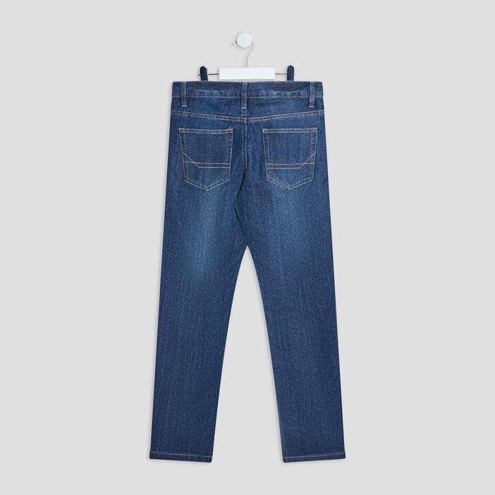 Jeans regular garçon denim stone