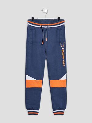 Pantalon jogging Pokemon bleu marine garcon