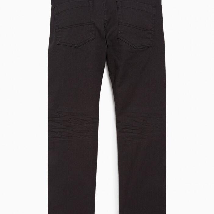 Pantalon droit garçon gris foncé