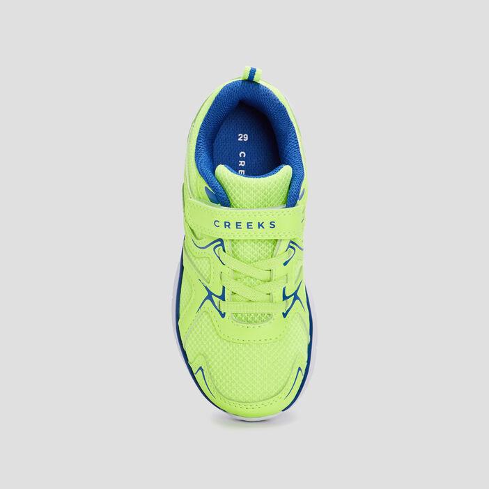 Baskets running Creeks garçon jaune