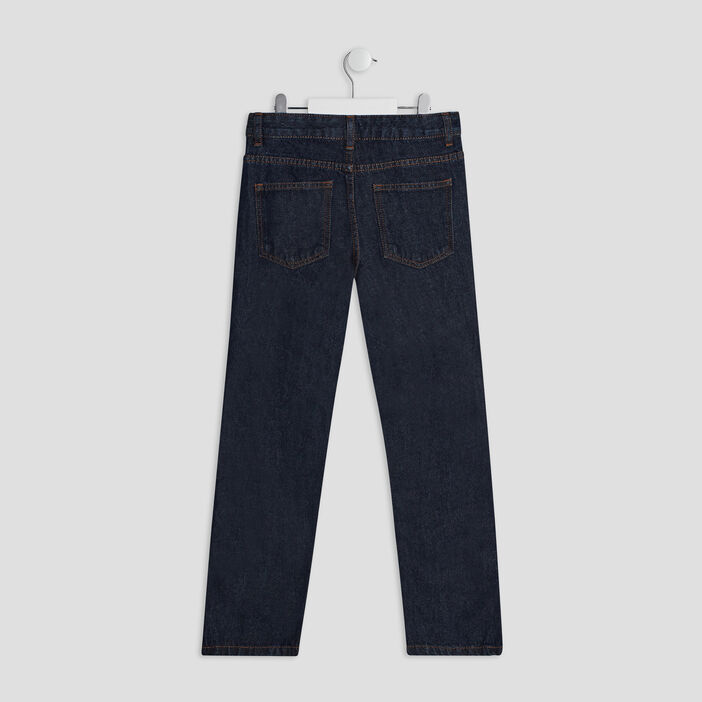 Jeans regular garçon denim brut