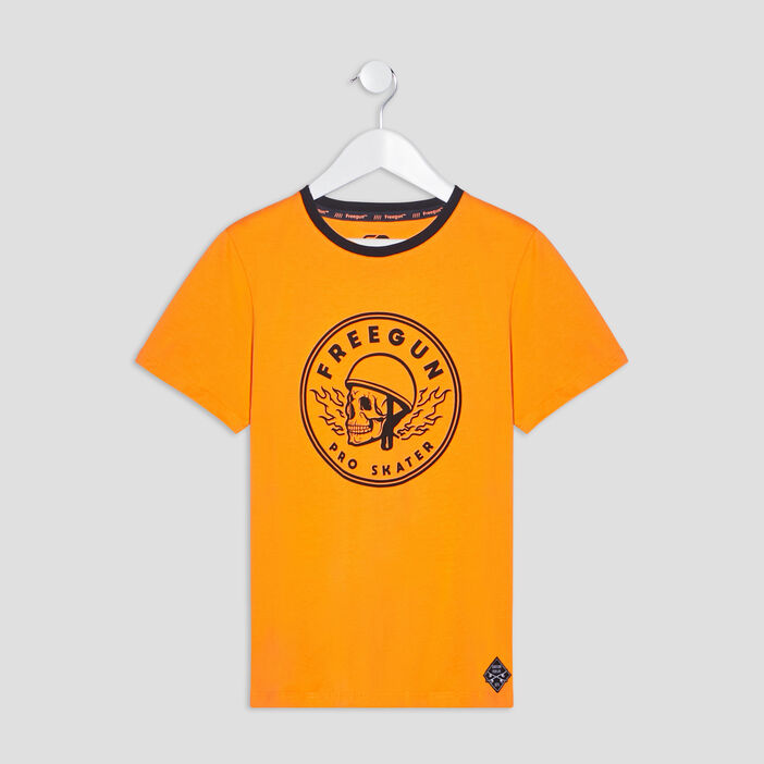 T-shirt Freegun garçon orange
