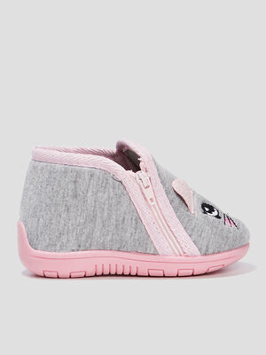Chaussons bottillons gris bebef