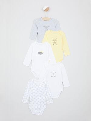 Sous vetement Lingerie bebe jaune bebe