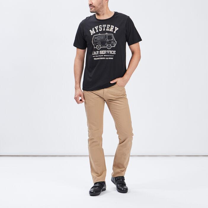 Pantalon straight homme beige