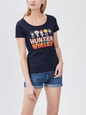 T shirt Hunter X Hunter noir femme