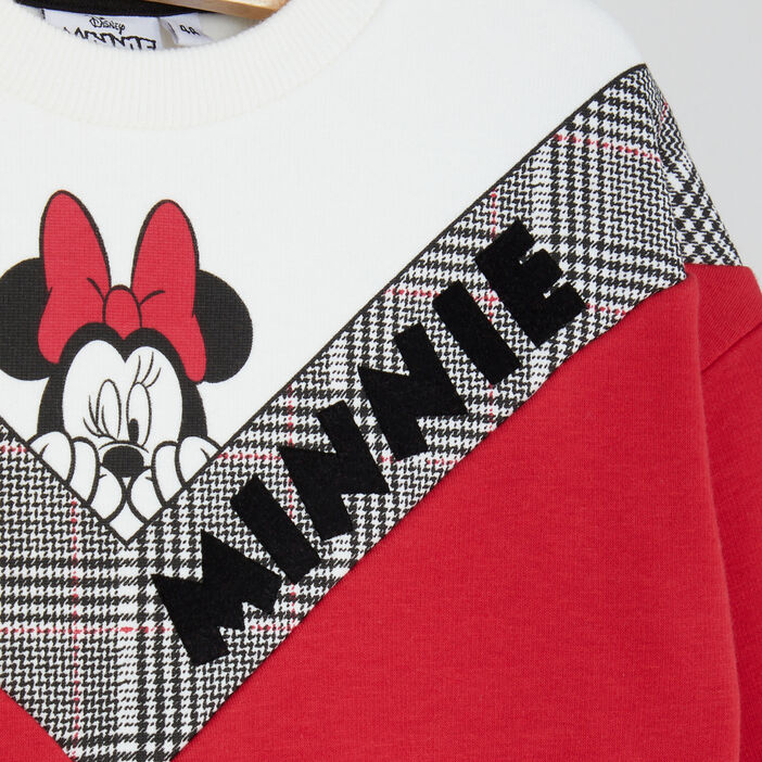 Sweatshirt Minnie esprit color block fille multicolore