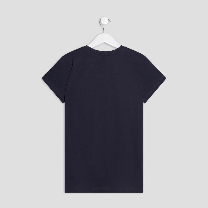 T-shirt Redskins garçon bleu marine