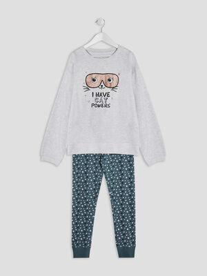 Pyjama ecru fille