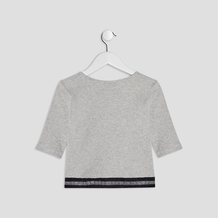 T-shirt Liberto fille gris