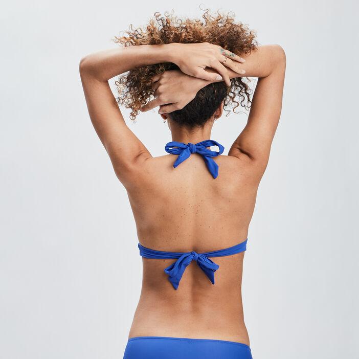 Haut de maillot de bain femme bleu roi