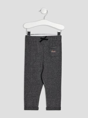 Pantalon jogging Creeks gris bebef