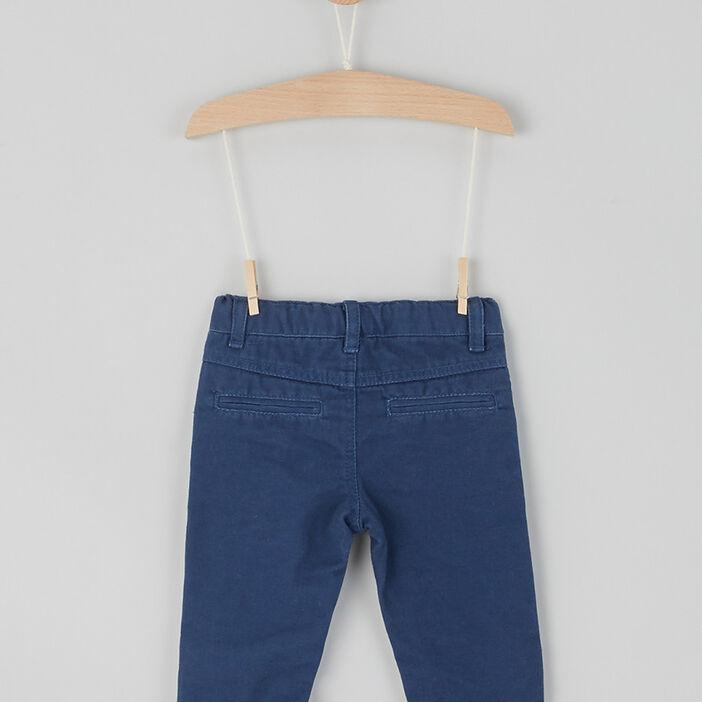 Pantalon droit Creeks bébé garçon bleu marine