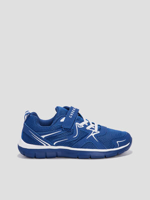 Baskets running Creeks bleu garcon