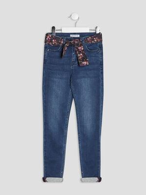 Jeans skinny Creeks denim stone fille