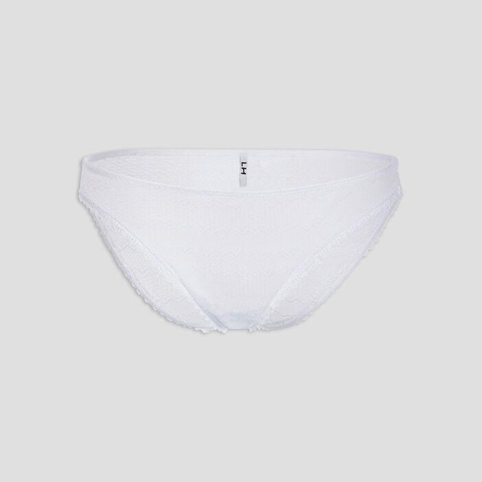 Culotte en dentelle femme blanc