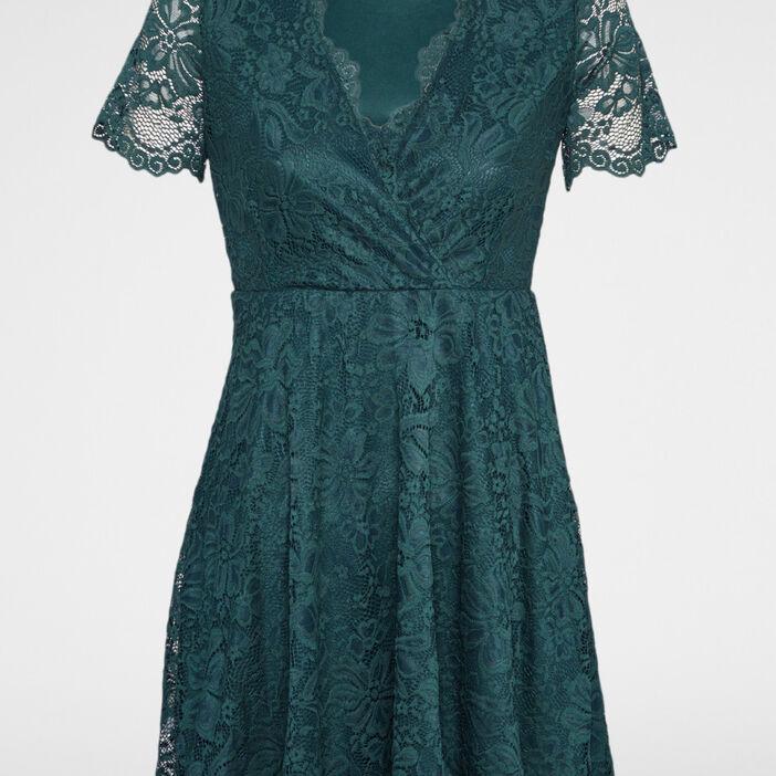 Robe femme vert